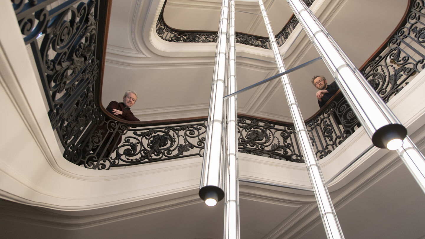 Bouroullec's lighting project for the Bourse de Commerce – Pinault Collection