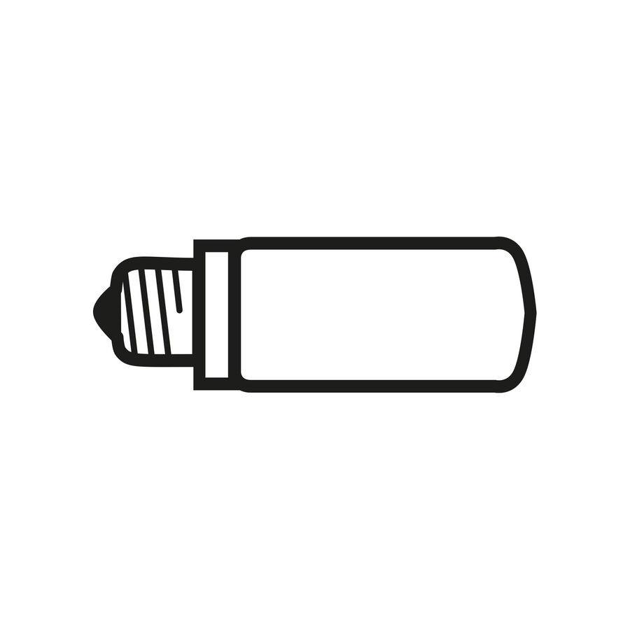 LED BiPin Lamp G9 3W 2700K
