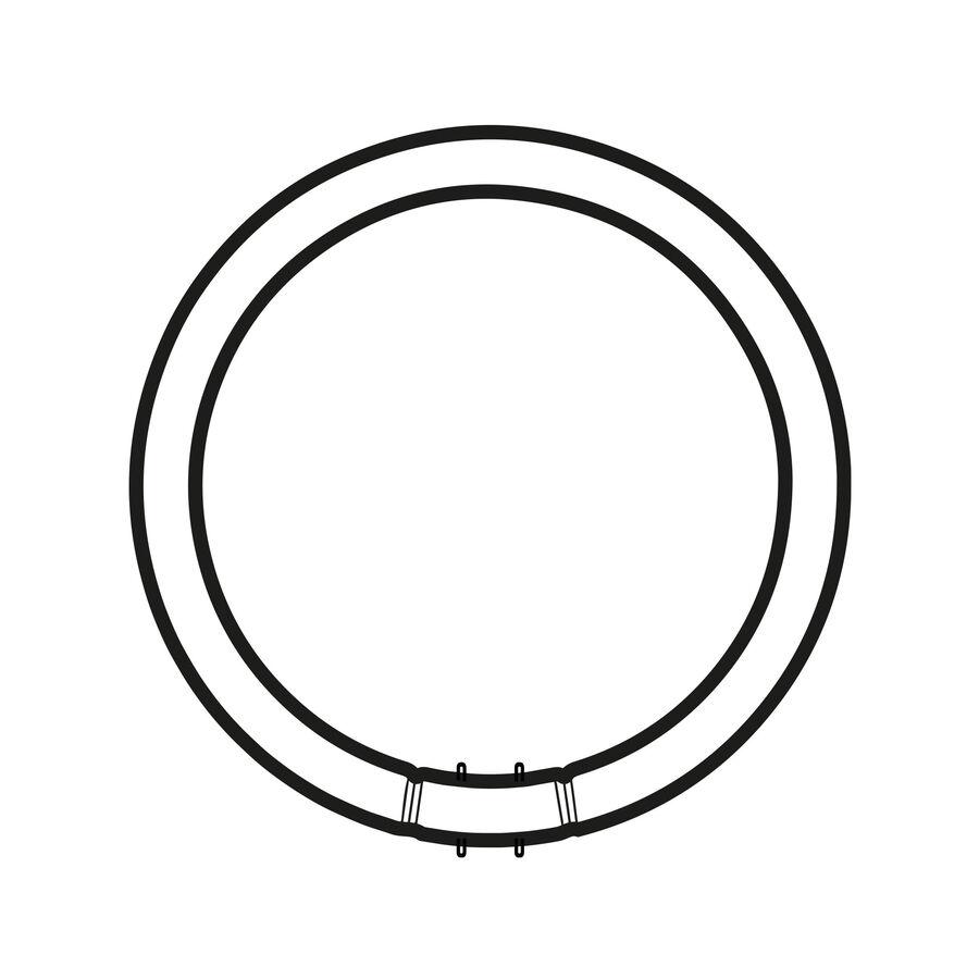 Circular Fluorescent Lamp 2GX13 22W 3000K T5